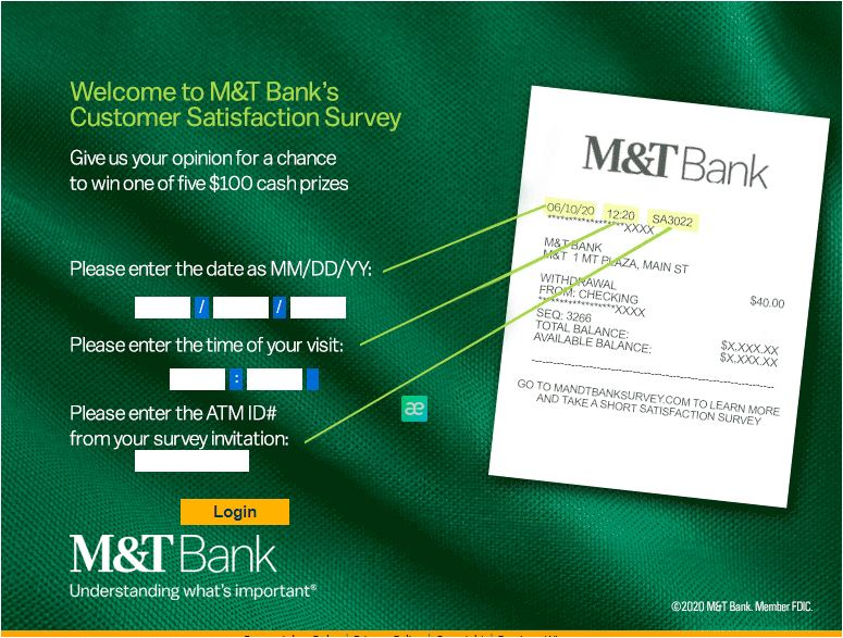 M&T Bank Survey