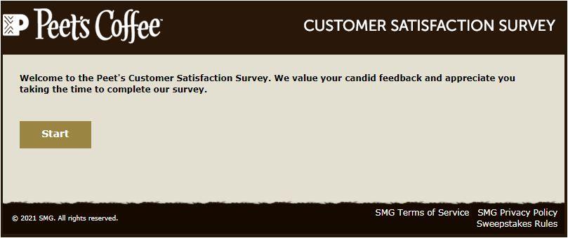 Peet's Coffee Survey