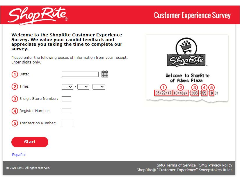 ShopRite Consumer Survey